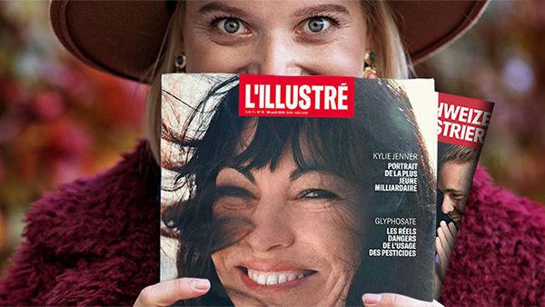 Schweizer Illustrierte et L'illustré présentent une nouvelle formule uniforme, plus moderne et rajeunie, à partir de novembre!