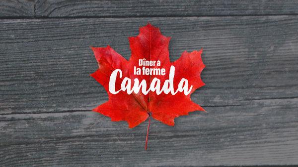 Dîner à la ferme au Canada