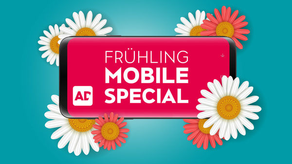 Jetzt profitieren: Frühling Mobile Special